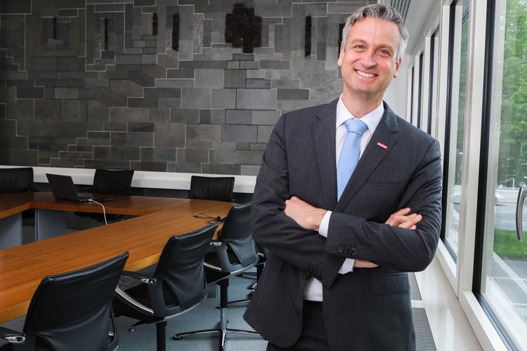 Businessportrait Hannover, Peter Karst - Hauptgeschäftsführer d. HWK Hannover